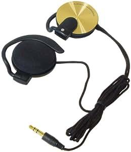 Transmedia OH37GL - Auriculares estéreo de clip (clavija de 3,5mm)