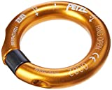 PETZL - Ring Open Multi-Directional Gated Ring for