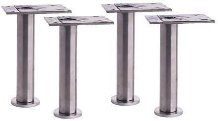 Ikea Capita - Pata de acero inoxidable ajustable (11 - 12 cm)