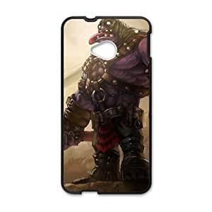 HTC One M7 Cell Phone Case Black League of Legends Executioner Mundo LM5628915