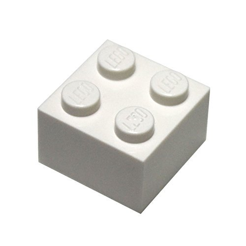 Free LEGO Parts and Pieces: 2x2 White Brick x100
