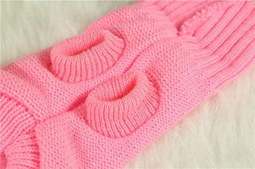Teacup Chihuahua Puppies - FidgetGear XXXXS/XXXS Teacup Dog Sweater Puppy Cat Hoodie Coat Warm Clothes for Chihuahua Pink XXXS