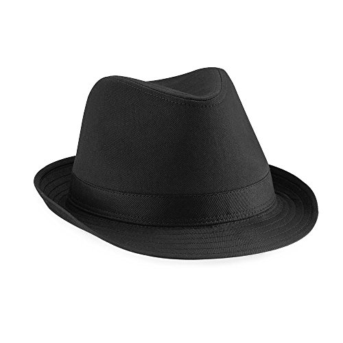 Beechfield - Fedora Hut Large / X-Large,Black