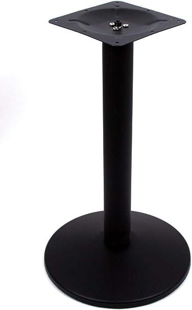 schwarzes Gestell,D/üsseldorf mit verstellbaren Bodengleitern Tischfu/ß 2x Tischbein 72 cm Tischgestell