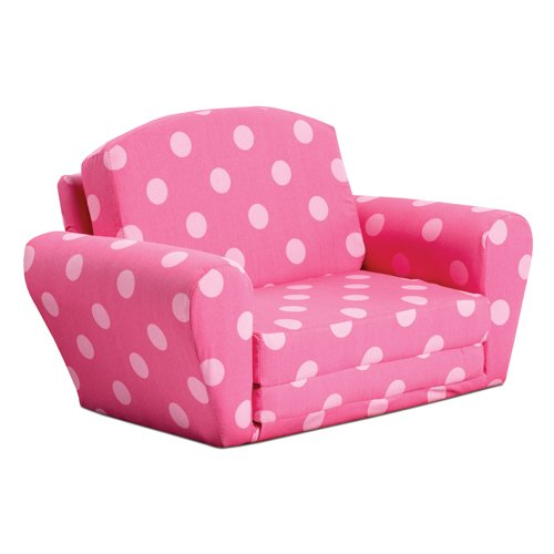 Kidz World Oxygen Pink Sofa Sleeper by Kidz World