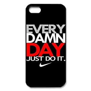 Custom Your Own JUST DO IT iPhone 5 Case, personalised JUST DO IT Iphone 5 Cover by runtopwell
