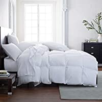 The Ultimate All Season Comforter Hotel Luxury Down Alternative Comforter Duvet Insert with Tabs Washable and Hypoallergenic (California King) …