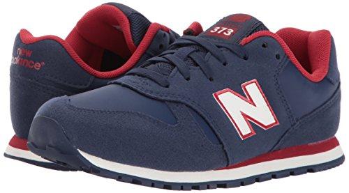 Sneaker Wide Boys' Balance KJ373 US Red Kid 2 Little 5 New Navy 6HUqt6W