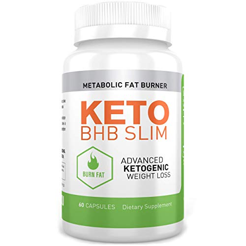 hotSKU Keto BHB Slim Diet Pills - Perfect Natural Supplement to Help Burn Fat with Ketosis - Boost Metabolism and Energy - Best Keto Supplements for Women and Men - -