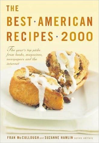The best american recipes 2000 fran mccullough suzanne hamlin the best american recipes 2000 fran mccullough suzanne hamlin 9780618009961 amazon books forumfinder Gallery