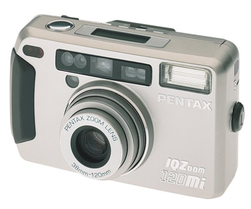 Pentax IQ Zoom 120Mi Quartz Date 35mm Camera Pentax Power Zoom