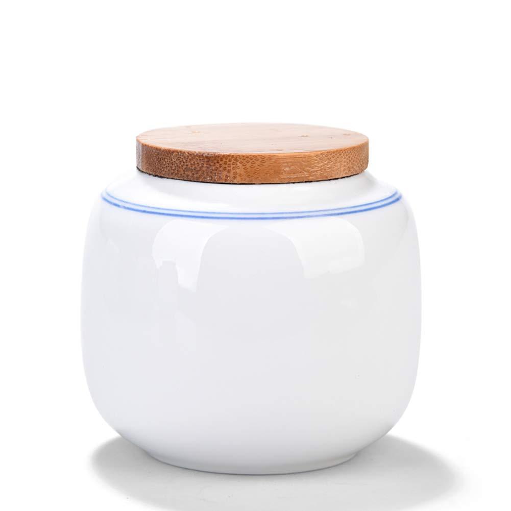 Voyage Portable Canister de thé, Chinois Portable Boîtes à thé Conteneurs de stockage Boîte à thé Pour Accueil Cadeaux-A 8x8cm(3x3inch) RYTC