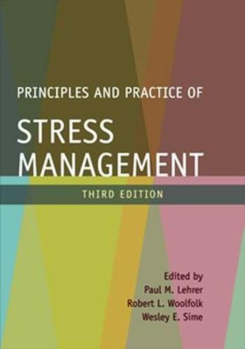 Principles and Practice of Stress Management, Third Edition by Brand: The Guilford Press