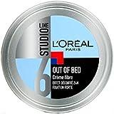 L'Oréal Paris Studio Line Out of Bed Crème Coiffante Cheveux Homme Effet Décoiffé Fixation Forte