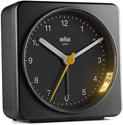 Braun BC03B Analog Travel Alarm Clock Larger version