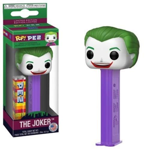 (Funko 34793 POP! PEZ: Batman 1966 TV - Joker,)