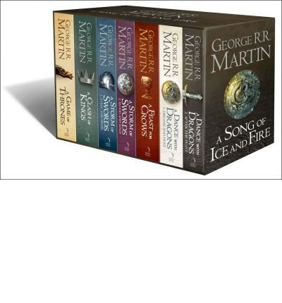 Book cover from A Song of Ice and Fire (7 Volumes) by George R. R. Martin