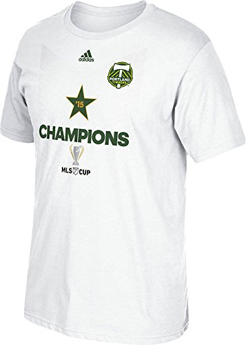 MLS Portland Timbers Men's Star Team Tee, Small, White