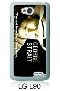 Beautiful Classic George Strait White Case For LG L90
