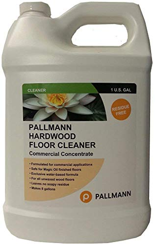 Prefinished Real Wood - Pallmann Hardwood Floor Cleaner 128 oz Concentrate