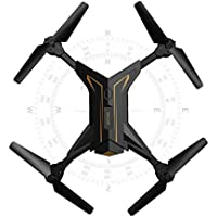Startview Foldable Headless RC Drone 2.4Ghz 4CH 6Axis Gyro RC Quadcopter W/ Camera KY601 (Gold)