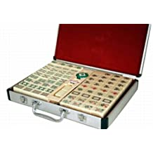 Traditional Chinese Version Mahjong Set W. Aluminum Carrying Case