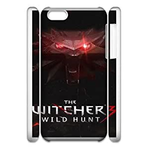 iPhone 6 4.7 Inch 3D Phone Case White The Witcher F6563080