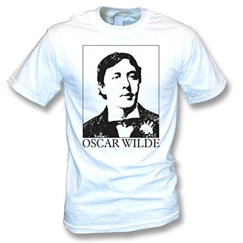 TshirtGrill T-Shirt Oscar Wildes (wie von Morrissey getragen), Farbe- Weiß