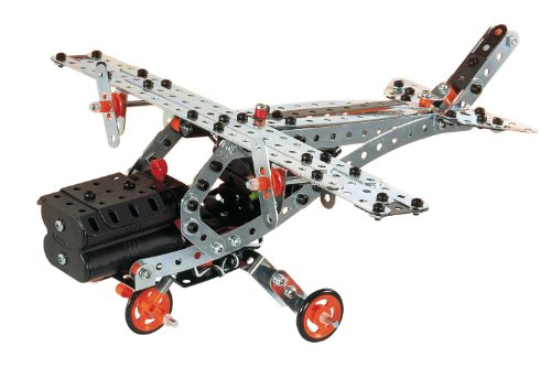 meccano build and play helicopter with 767224 Meccano Erector Super Construction Set 25 Models 640 Parts Discontinued By Manufacturer on  in addition Meccano Flight Adventure further Meccano Super Construction Set 25 Motorized Model Building Set 638 Pieces Ages 10 Stem Education Toy also Crane Set Toys likewise Meccano  Eitech  Merkur Meccano.