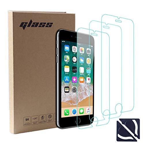 計画的グループスーパーマーケット【3枚セット】Susanoo iPhone8 ガラスフィルム iPhone7 液晶保護フィルム iPhone6S 強化ガラス iPhone6 ガラス ラウンドエッジ 高透過率 硬度9H 超薄 アイフォン8 / 7 4.7インチ用 ガイドキット付き 貼り付け簡単