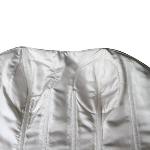 Elfenbein GEORGE Elegant Schulter Organza Brautkleid 1 BRIDE Design Neu T8qRTPgw