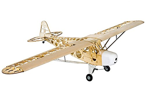 HobbyKing Piper J-3 Cub Balsa Wood RC Airplane Laser Cut Kit 1800mm (70)