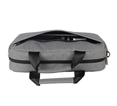 YPtong Laptop Taschen Casual Messenger Bag Business Umhängetasche Männer Crossbody Tasche Jugendliche campus Schultertaschen Grau tTSqAyw