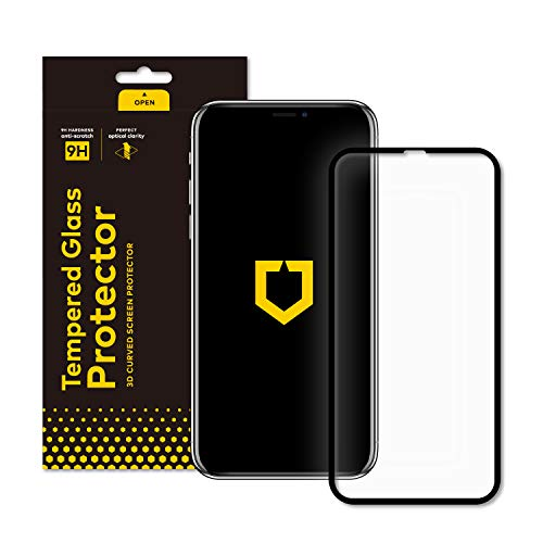 - RhinoShield Screen Protector for iPhone Xs/X [9H 3D Curved Edge to Edge Tempered Glass] | Full Coverage Clear and Scratch Resistant Screen Protection