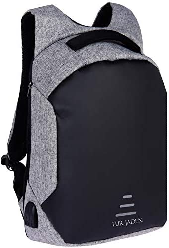 FUR JADEN Anti Theft Waterproof With Usb Charging Point 20 Ltrs Grey Casual  Backpack (BM25 Grey) at Amazon at Rs.1699 at Lowest Price at SasteSaude 94bcd0837e