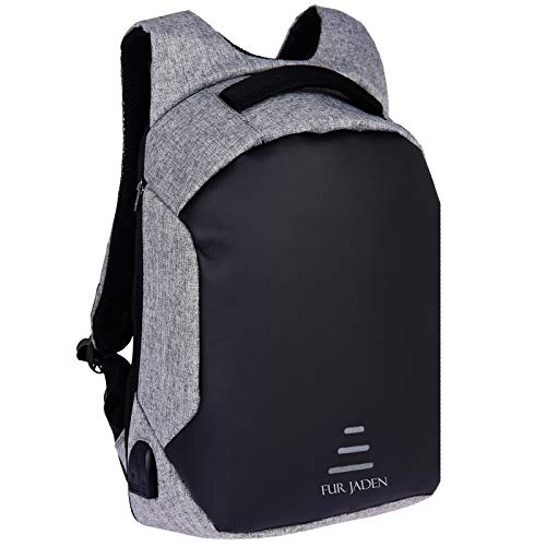 FUR JADEN Anti Theft Waterproof with USB Charging Point 20 Ltrs...