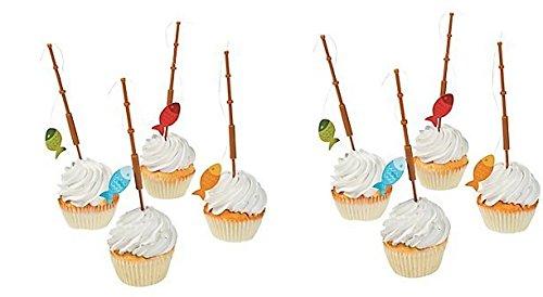 Fun Express Fisherman Fishing Cupcake product image
