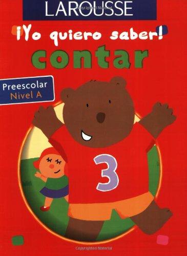 Read Online Contar Preescolar Nivel A (Yo quiero saber) (Spanish Edition) pdf