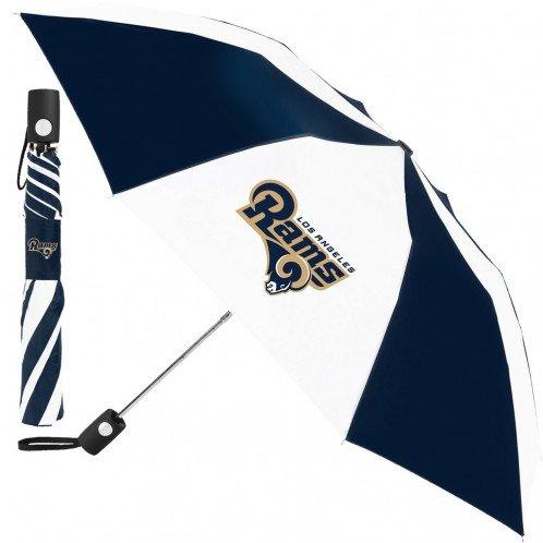 Los Angeles Rams 42'' Auto Folding Umbrella NFL by Wncraft