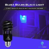 4 Pack BlueX CFL Blacklight Bulb 13W – 50-Watt