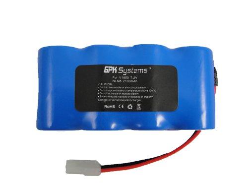 GPK Systems Battery Pack 7.2v 2100mah for Euro-pro Shark