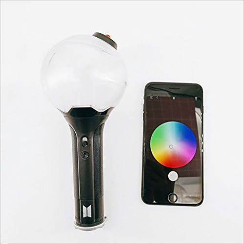 - Kpop BTS Bangtan Boys Concert VER.3 Support Bomb Lamp Hand Lamp APP Discoloration Light Stick with Gift