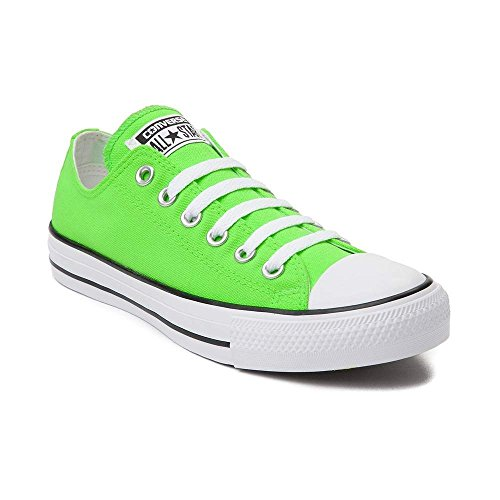 Converse Chuck Taylor All Star Lo Neon (Mens 8/Womens 10, Green)