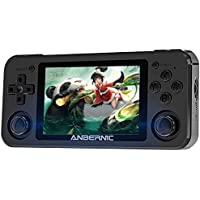 Anbernic RG351P Retro Game Console 64 GB with 2500 Games, Spelcomputer Console Stand-by PSP, NDS, DC, RK3326 Quad core 1…