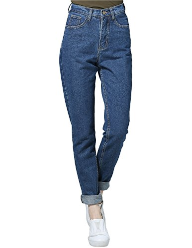 Jeans Mujer Vintage Jeans high Waist Pencil Jeans mom Jeans high Waisted 2019 Vintage Pants Blue 29