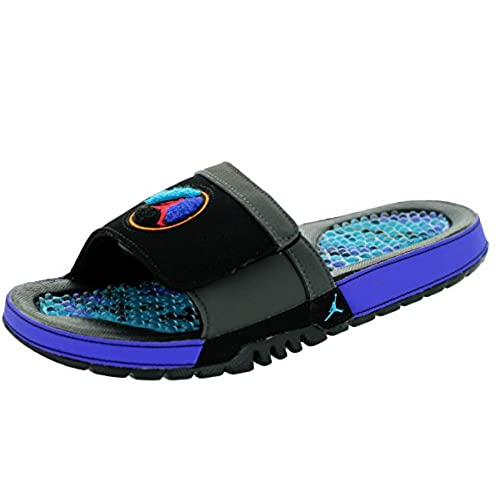 0695cf04dfa93c Nike Jordan Men s Jordan Hydro VIII Retro Black True Red Mdnght Fog Aqtn