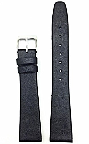 NewLife Black, flat, Soft Leather 12mm