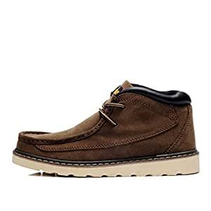 Amazon.com: Hy Men's Casual Shoes, Fall Winter Leather