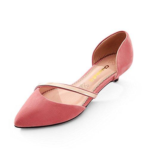 De Altos C Bajo Mujer contratista zapatos Tacones Señoras Sandalias Zapatos Grande Los Dulce Puntiagudos Mujeres Talla Las wXfaxx0gq
