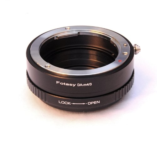 Fotasy Pro Pentax DA K Mount lens to Micro 4/3 MFT System Camera Mount Adapter, with Aperture Control